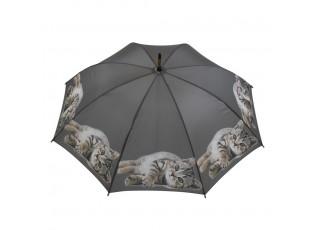 Deštník s mourovatým koťátkem - 105*105*88cm