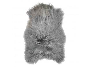 Šedá kůže z Islandské ovce Iceland grey - 115*75*5cm