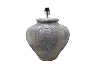 Terakotová stolní lampa bez stínidla Terri - Ø 39*46cm / E27