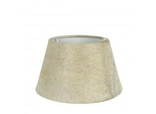 Stínidlo lampy z kravské kůže béžová - Ø 20* Ø 31*18,5cm