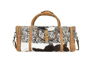 Kožená designová cestovní taška Nikol - 23*55*26cm