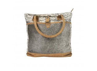 Kožená designová kabelka Nikol - 45*40cm