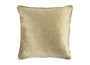 Zlatý sametový polštář Amien - 45*45cm