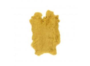 Medově zlatá králičí kůže Rabb - 30*2*40cm