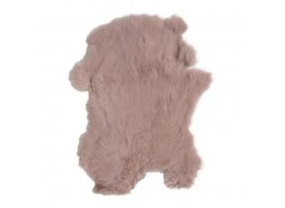Růžová králičí kůže Rabb - 30*2*40cm