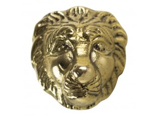 Zlatá úchytka lev - 3,4*3,4*6cm