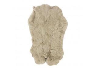 Béžová králičí kůže Rabb - 30*2*40cm