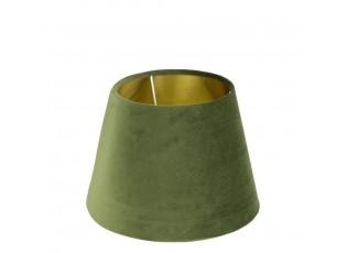 Stínidlo na lampu v zelenkavé barvě - 24*24*16cm