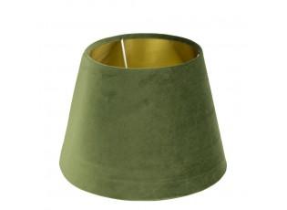 Stínidlo na lampu v zelenkavé barvě - 30*30*21cm