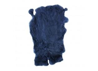 Modrá králičí kůže Rabb - 30*2*40cm