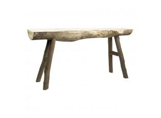 Dřevěná lavice Emilly - 93*25*47cm