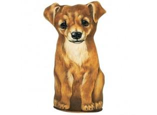 Velká dveřní zarážka s motivem psa - 43*25*13cm