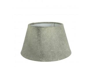 Stínidlo lampy z kravské kůže šedá - Ø 30*18,5cm