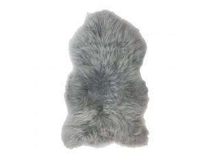 Šedá stříbrná kůže z Islandské ovce Iceland silver - 100*70*5cm