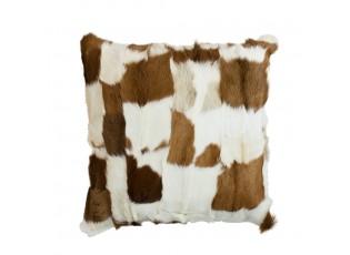 Polštář koza hnědo-bílá (capra aegagrus hircus) - 40*40*10cm