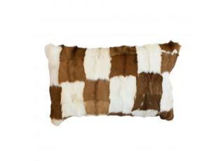 Polštář koza hnědo-bílá (capra aegagrus hircus) - 30*50*10cm