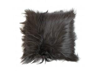 Polštář koza dlouhý vlas grafit (capra aegagrus hircus) - 40*40*10cm