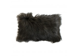 Polštář koza dlouhý vlas grafit (capra aegagrus hircus) - 30*50*10cm