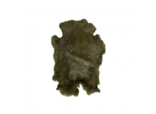 Lesní zelená králičí kůže Rabb - 30*2*40cm