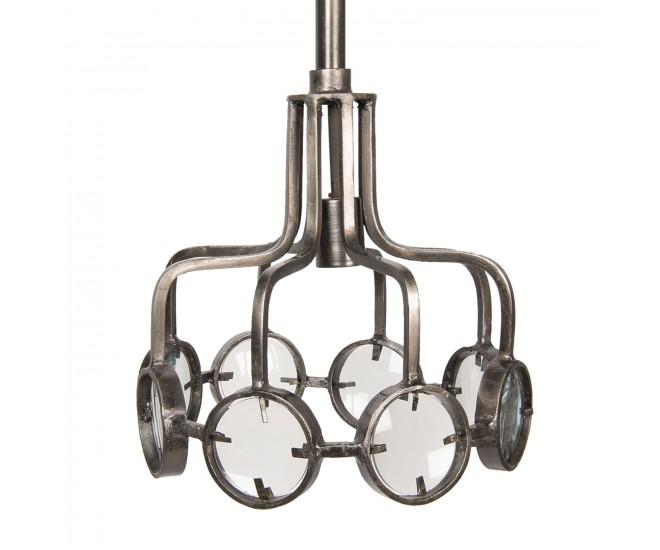 Závěsné kovové světlo Sibylle – Ø 31*32 cm E27/max 1*60W