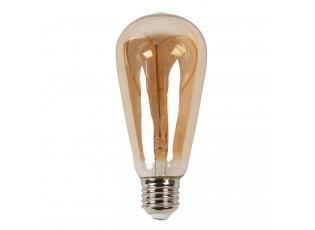 Žárovka Antique LED Bulb Heart - Ø 6*14 cm E27/3W