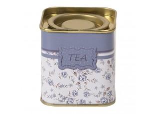 Plechová krabička na sypaný čaj Tea - 5*5*6 cm