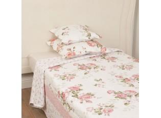 Přehoz na jednolůžkové postele Roses - 140 * 220 cm