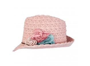 Dětský klobouk Alessandra růžový