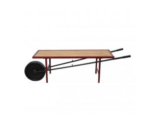 Lavice v dekoru kolečka Collo - 173*44*48 cm