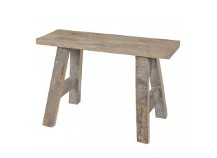 Dekorační dřevěná retro stolička - 40*14*27 cm
