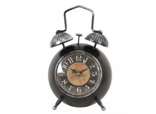 Stolní hodiny retro budík - 15*7*25 cm / 1*AA
