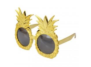 Zlaté sluneční brýle s ananasem