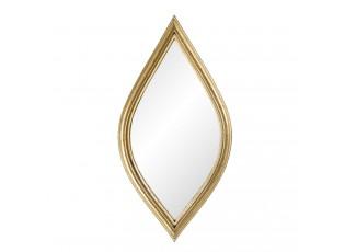 Nástěnné zrcadlo ve zlatém rámu Quintin - 12*1*24 cm
