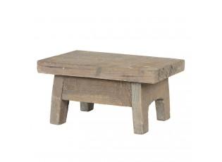 Mini dřevěná dekorační stolička - 20*13*10 cm