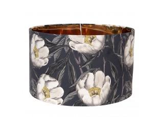 Textilní stínidlo s květinovým motivem Cigogne – Ø 45*28 cm