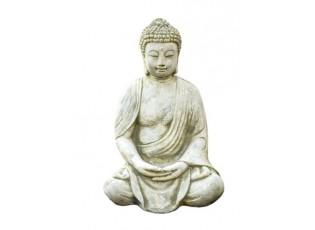 Zahradní betonová dekorace sedící Buddha - 24*17*38 cm