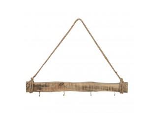 Dřevěný nástěnný věšák - 50*5 cm