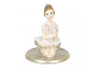 Dekorace šperkovnice baletka - 4*4*6 cm