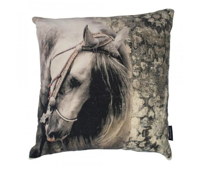 Bavlněný polštář Kůň - 45*15*45cm
