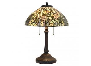 Stolní Tiffany lampa Aglaie – Ø 40*60 cm E27/max 3*60W