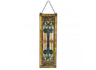 Vitrážový dekorační panel Tiffany Lula - 25*73 cm