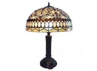 Stolní lampa Tiffany Adélie – Ø 46*62 cm E27/max 2*60W