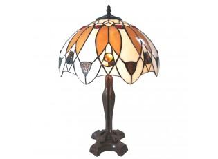 Stolní lampa Tiffany Avelline – Ø 41*57 cm E27/max 2*60W