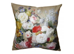 Povlak na polštář s květy Manon - 45*45 cm