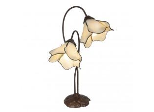 Tiffany stolní lampa Cloches - 41*23*57 cm E27/max 2*40W
