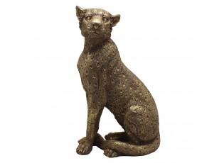 Dekorativní soška pantera - 14*11*27 cm