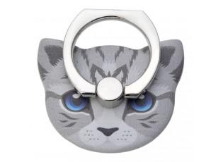 Prsten na mobilní telefon ve tvaru hlavy kočky