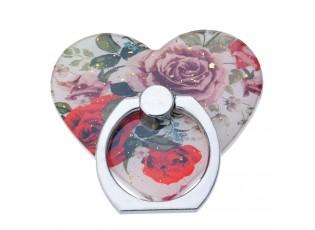 Prsten na mobilní telefon s růžemi