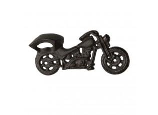 Nástěnný litinový otvírák motorka - 19*3*9 cm