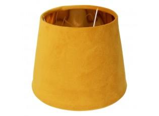 Sametové medově zlaté stínidlo se zlatým vnitřkem Honey - Ø46*25cm/ E27